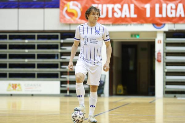 Mateusz Cyman jest najlepszym strzelcem AZS UG. 15 z 82 bramek w tym sezonie było jego autorstwa.
