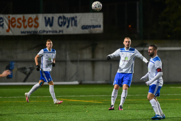 Pierwszy tegoroczny sparing Bałtyku Gdynia odbędzie się 27 stycznia. Biało-niebiescy zagrają u siebie z II-ligowym Sokołem Ostróda.