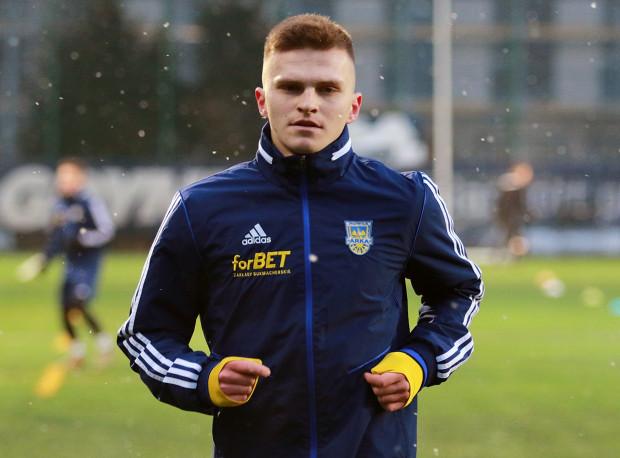 Maciej Rosołek został wypożyczony do Arki Gdynia z klubu  mistrza Polski - Legii Warszawa.