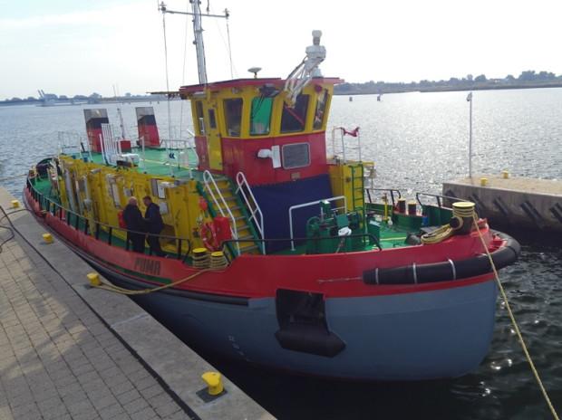 Puma we wrześniu ub. roku przybyła do Gdańska. Już została włączona do służby.