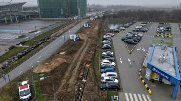 Nowy odcinek ul. Słowackiego będzie liczył niespełna 400 m długości.