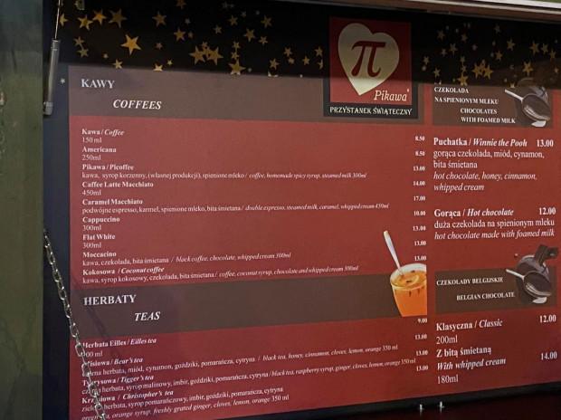 Przykładowa oferta lokali na Gdańskim Szlaku Kulinarnym.
