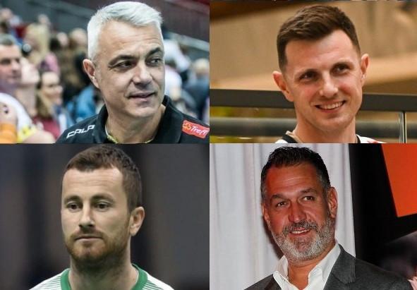 Eksperci - górny rząd od lewej: Andrea Anastasi, Wojciech Grzyb, dolny rząd od lewej: Piotr Wiśniewski, Tomasz Gaszyński.