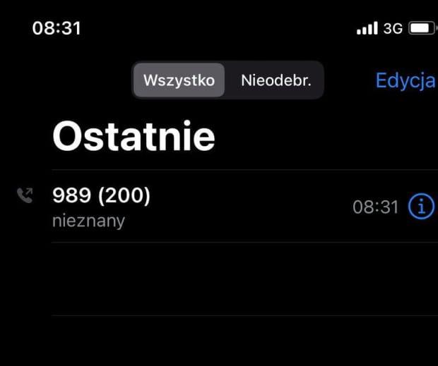Wojtek, chcąc zarejestrować tatę, wykonał na infolinię 200 połączeń. Okazały się bezskuteczne.
