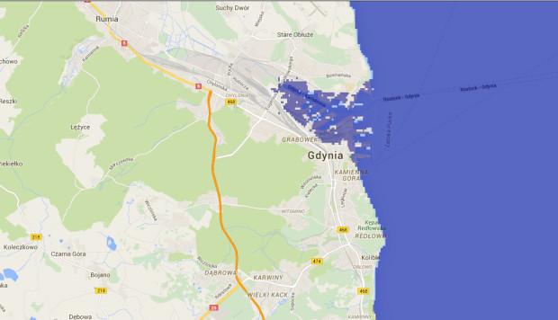 ... oraz na terenie Gdyni.