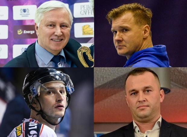 Eksperci - górny rząd od lewej: Bogusław Witkowski, Dawid Nilsson, dolny rząd od lewej: Jan Steber, Robert Rogowski.