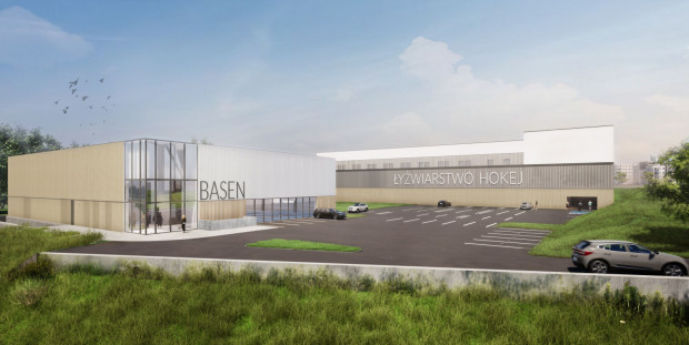 W drugim etapie, wartym ok. 22,5 mln zł, obiekt zostanie rozbudowany o kryty basen.