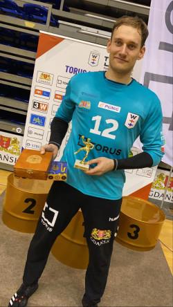 Artur Chmieliński, MVP turnieju.