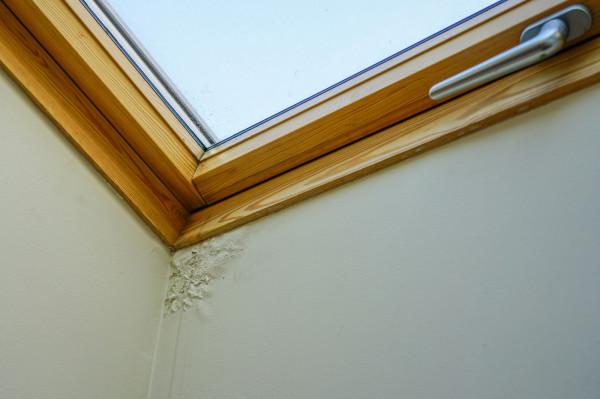 Przeciek dachu w okolicach okna połaciowego to jedna z częstych usterek w mieszkaniach na poddaszu.