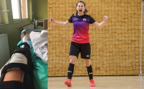 Rok temu Natasza Urbanowicz zerwała więzadło krzyżowe. W pierwszym meczu po powrocie do gry, zdobyła dwie bramki i asystę dając zwycięstwo futsalistkom AZS UG.