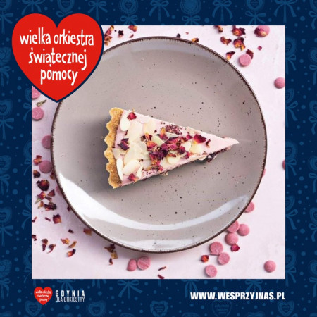 Na aukcji dla WOŚP możemy wylicytować voucher o wartości 200 zł do pracowni cukierniczej Must Bake.