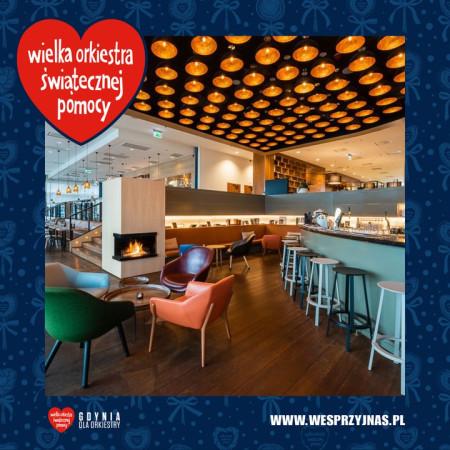 W aukcji dla WOŚP możemy wylicytować podwójny nocleg dla dwóch osób w hotelu Courtyard by Marriott Gdynia Waterfront.