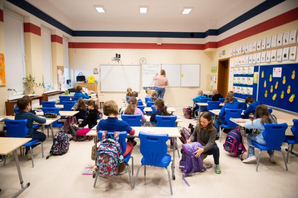 Po feriach, 18 stycznia br., dzieci z klas I-III zakończyły naukę zdalną i wróciły do szkół.