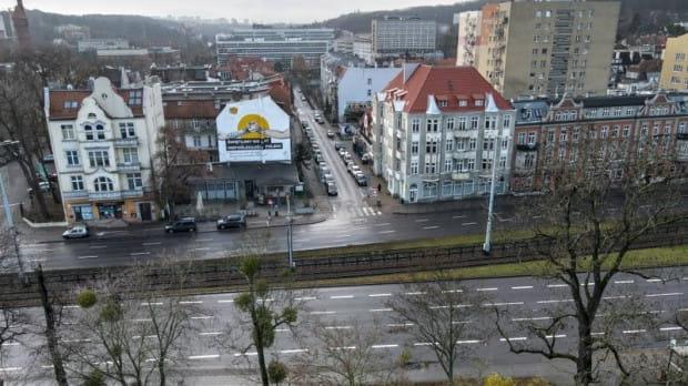 Linia tramwajowa Nowa Politechniczna ma się włączyć w torowisko na al. Grunwaldzkiej na wysokości ul. Bohaterów Getta Warszawskiego.