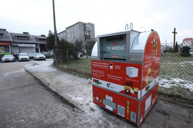 Ok. 70 takich pojemników pojawi się na terenie Gdańska. Pierwsze ustawiano we wtorek, 26 stycznia.