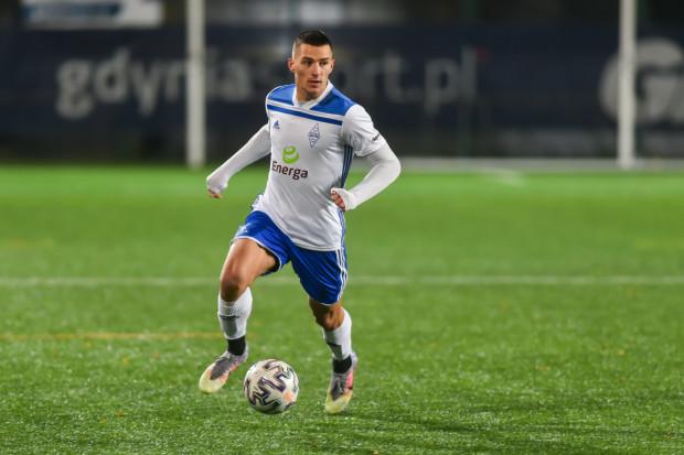 Szymon Nowicki strzelił jedynego gola dla Bałtyku Gdynia w sparingu z II-ligowym Sokołem Ostróda.