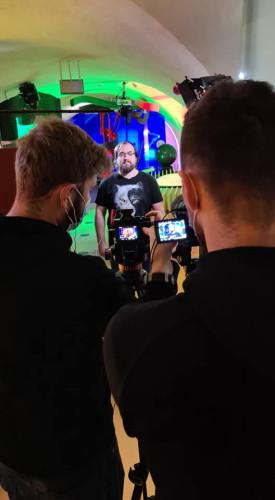 Kilka dni temu w studiu na Górze Gradowej nagrano życzenia dla Heweliusza. Będzie można je obejrzeć 28 stycznia o godz. 17 na stronie internetowej i Facebooku Jana Heweliusza.