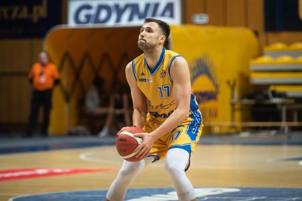 Igor Wadowski trafił 14 sekund przed końcem meczu z MKS Dąbrowa Górnicza i zapewnił zwycięstwo Asseco Arce Gdynia.