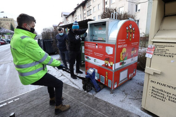 Pierwszych 20 pojemników w Gdańsku ustawiono w ubiegłym tygodniu. Kolejne będą na bieżąco dostawiane.