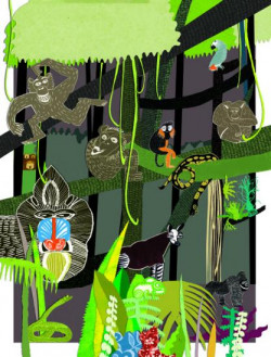Tegoroczne Bałtyckie Spotkania Ilustratorów to okazja do zapoznania się z mało znanymi polskimi i zagranicznymi bajkami o tematyce afrykańskiej.