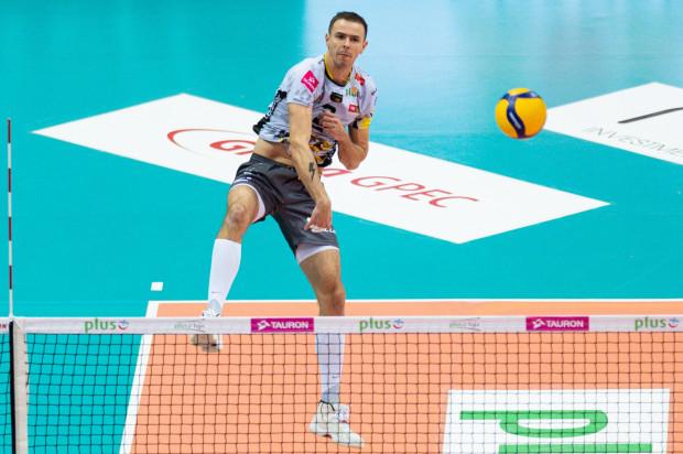 Bez Mariusza Wlazłego (na zdjęciu) Trefl Gdańsk przegrał w Olsztynie do zera. Czy jego powrót pomoże wziąć rewanż w Ergo Arenie?