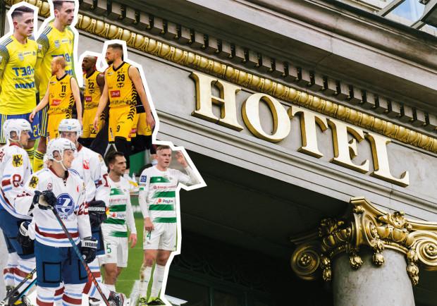 Na jakich zasadach korzystają z hoteli trójmiejskie drużyny klubowe?