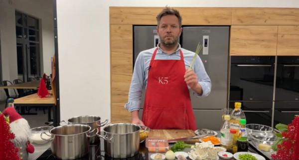 Z K5 Akademią Kulinarną można wspólnie gotować w swoim domu.