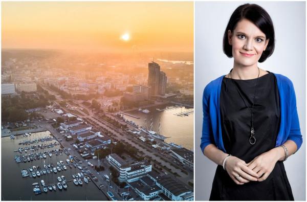 Katarzyna Gruszecka-Spychała, wiceprezydent Gdyni, będzie reprezentować trójmiejskich samorządowców w nowej radzie.