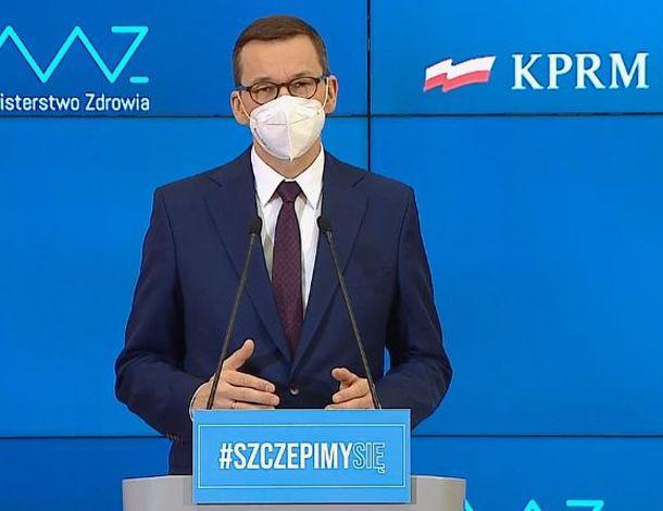 Premier Mateusz Morawiecki zapowiedział poluzowania od 12 lutego.