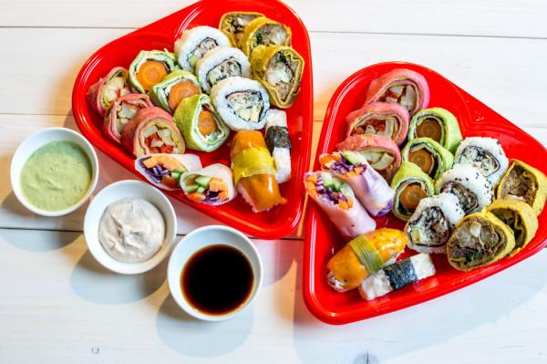 Walentynkowe sushi od Manna 68.