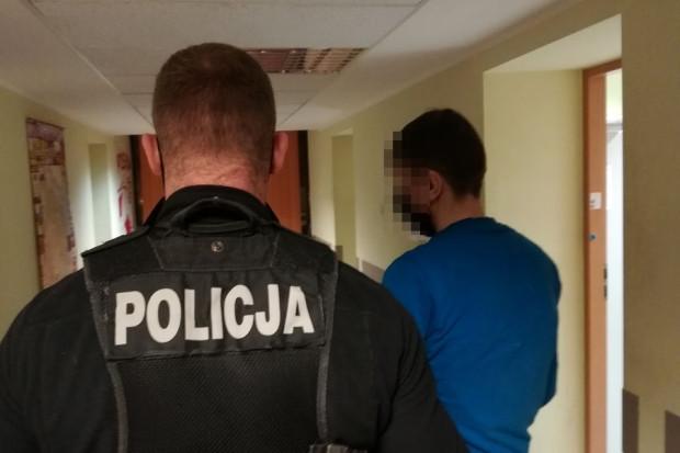 39-latek został zatrzymany w Gdyni.