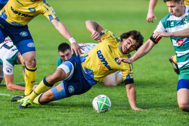 Szymon Sirocki nabawił się kontuzji nadgarstka nie na boisku rugby, ale w pracy.