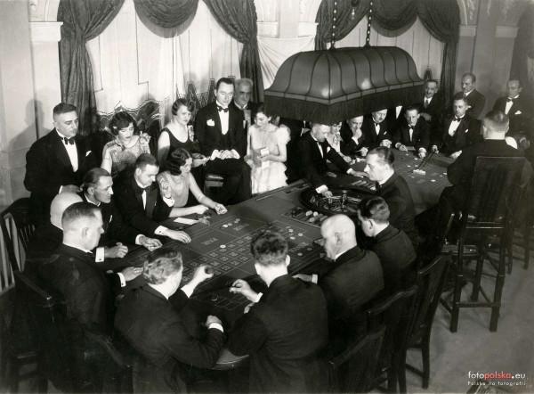 1933 r., kasyno w Sopocie.