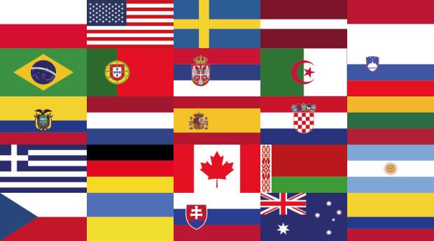 W obecnie trwających ekstraklasowych rozgrywkach, mamy sportowców aż 25 narodowości w Trójmieście.