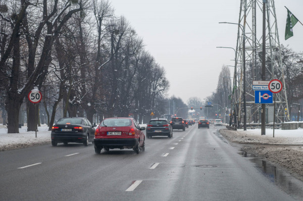 Od przyszłego miesiąca ograniczenie do 50 km/h będzie obowiązywać od Błędnika aż do granicy z Sopotem.