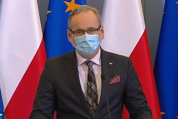 Minister zdrowia podczas konferencji mówił, że trzecia fala pandemii już jest w Polsce.