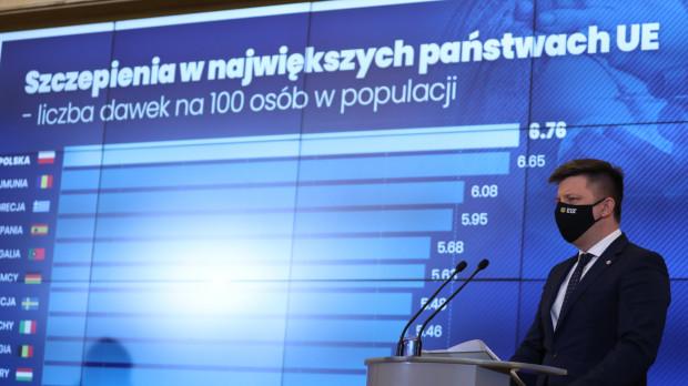 Szef Kancelarii Prezesa Rady Ministrów i pełnomocnik rządu do spraw szczepień Michał Dworczyk poinformował o kolejnych terminach dotyczących narodowego Programu Szczepień.