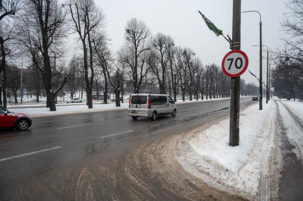 To już ostatnie dni, kiedy kierowcy bez łamania przepisów mogą jechać al. Zwycięstwa w Gdańsku z prędkością 70 km/h.