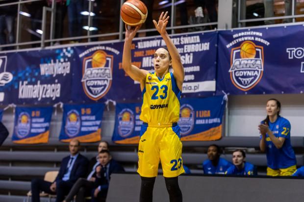 Marissa Kastanek była najlepszym strzelcem VBW Arki Gdynia w meczu ze Ślęzą Wrocław. Trafiła 17 punktów, z czego 15 z nich padło po rzutach z dystansu.