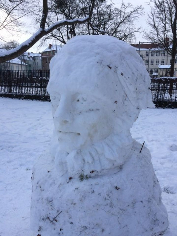 Zdjęcie nr 6 -  Dzieło mojego sąsiada w Parku Oliwskim
