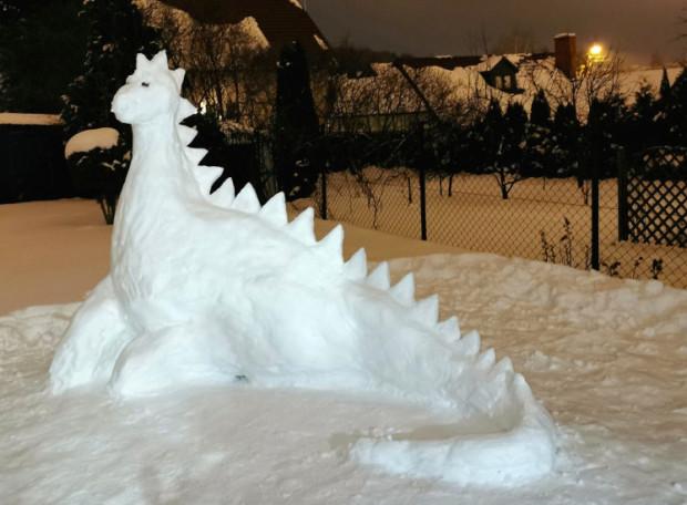 Zdjęcie nr 7 -  Dinozaur w ogrodzie
