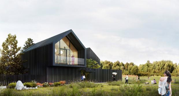 Zaprojektowany kilka lat temu budynek czekał na realizację. W listopadzie 2022 roku wizja architektów ma stać się faktem.