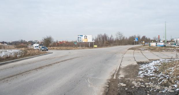 Skrzyżowanie ul. Niepołomickiej, ul. Czerskiej i ul. Starogardzkiej w Gdańsku w 2018 r.