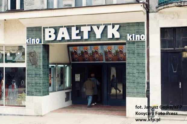 Kino Bałtyk na Monciaku - 1997 rok.