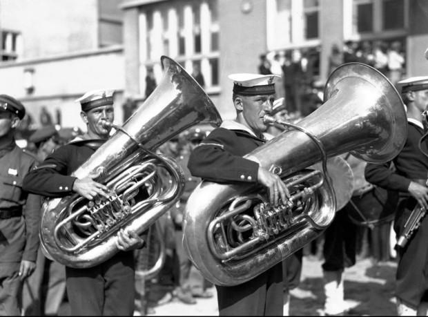 Święto Morza w Gdyni, rok 1932.