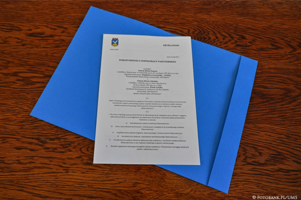 Treść porozumienia zakłada współpracę stron nie tylko przy budowie obserwatorium, ale również w trakcie jego funkcjonowania.