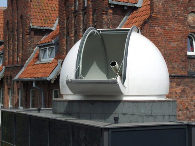 Kopuła obserwatorium w Gdańsku