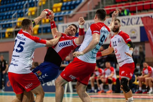 Zupełnie odwrotnie niż w poprzednim meczu z Łomżą Vive Kielce, Torus Wybrzęże Gdańsk w Kaliszu kompletnie nie poradziło sobie w pierwszym kwadransie spotkania. Na zdjęciu Kelian Janikowski.