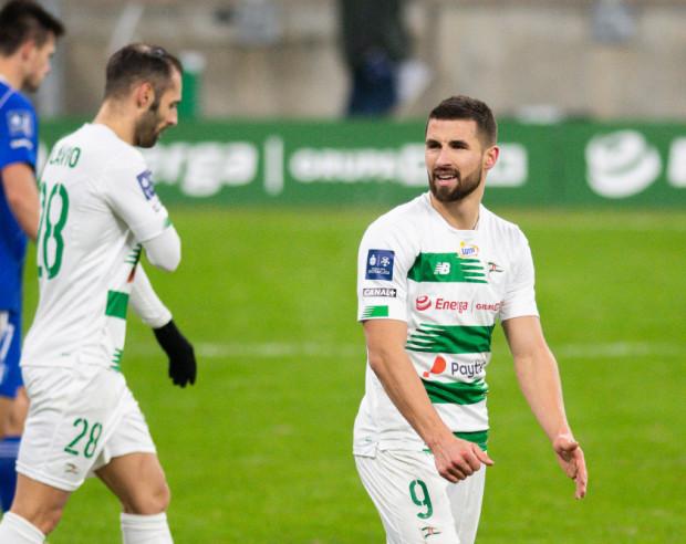 Łukasz Zwoliński zagrał w pierwszym oficjalnym meczu w tym roku i od razu wpisał się na listę strzelców.