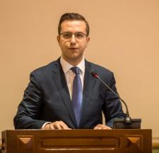 Cezary Śpiewak-Dowbór, przewodniczący Klubu KO w Radzie Miasta Gdańska.